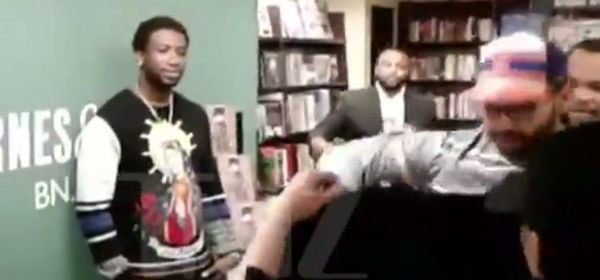 Gucci Mane Gets Rushed By A Group Of Fur Protesters [VIDEO]