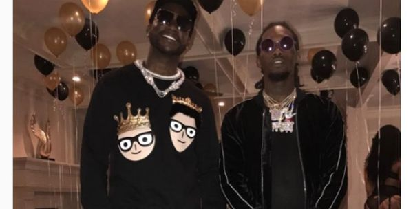 Offset Threw A Surprise Bachelor Party For Gucci Mane [PHOTOS]
