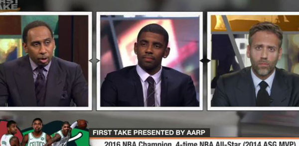 Kyrie Irving Says He Doesn't Give AF About Lebron's Feelings [VIDEO]