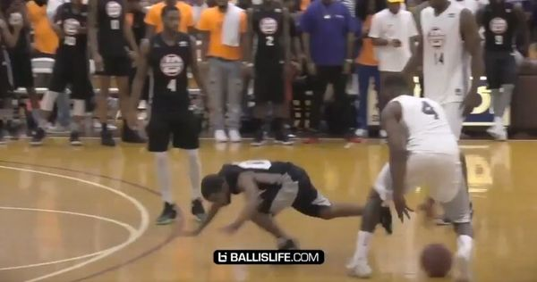 John Wall Sends Lil Duval Flying With Pullback Crossover [VIDEO]