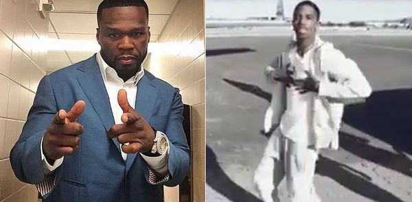 Wait, 50 Cent Just Cosigned Diddy's Rapping Son