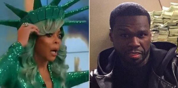 50 Cent Clowns Wendy Williams For Passing Out On-Air [VIDEO]