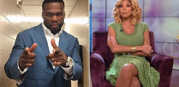 50 Cent Torches Wendy Williams [PHOTOS]