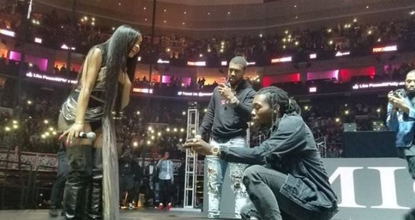 Cardi B And Offset Are Engaged  [VIDEO]