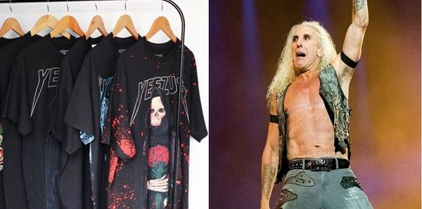 Twisted Sister Dee Snider Calls Out Kanye For Appropriating Metal Tees