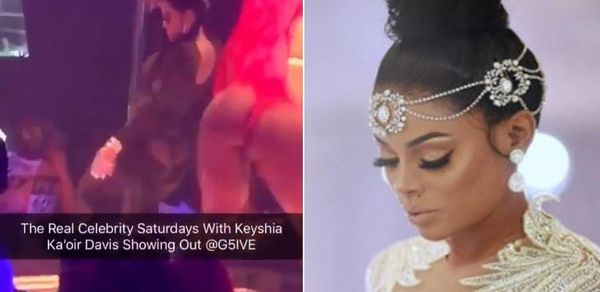 Gucci's New Wife Keyshia Ka'oir Works The Pole At Strip Club [VIDEO]
