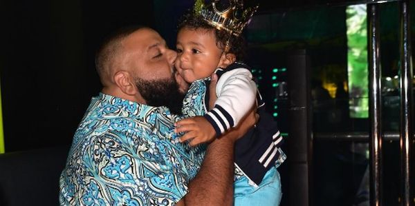 DJ Khaled Gets Asahd Baller Watch For Birthday [PHOTOS]