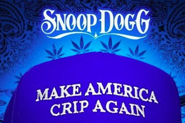 "Snoop Dogg Drops ""Make America Crip Again"""