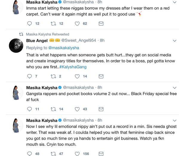 Nipsey Hussle Beefs With Masika Kalysha After Lauren London Breakup