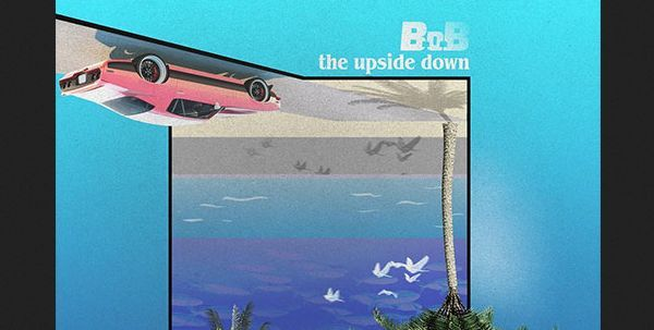 "B.o.B Drops An Instagram Album ""The Upside Down"""