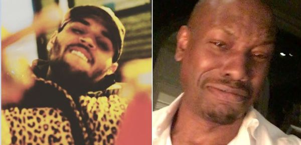 Chris Brown Is Pissed He's Being Lumped In With Tyrese