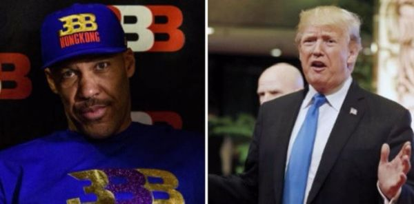 Donald Trump Can't Stop Tweeting About LaVar Ball