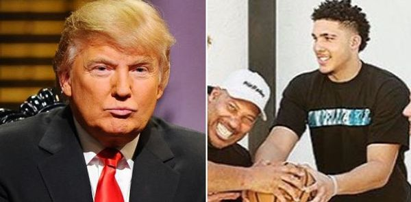 Donald Trump Wants Thank You From LiAngelo Ball