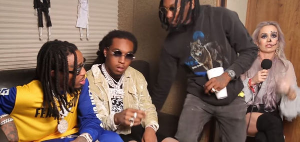 Migos End Interview During Cardi B Question [VIDEO]