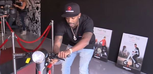 Ray J Accused Of Stealing Scoot-E-Bike Idea & Is Being Sued for $30 Million