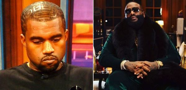 Rick Ross Says Kanye West Made Him Redo His 'Devil In A New Dress' Verse