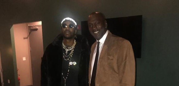 2 Chainz Proves Michael Jordan Doesn't Hate Rappers