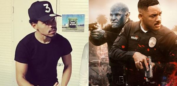 "Chance The Rapper's Not Down With How ""Bright"" Handles Race Relations"