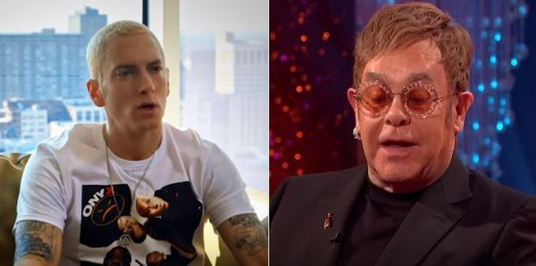 Eminem Bought Elton John Highly Sexual Wedding Gift