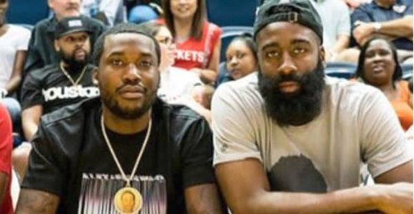 James Harden Updates Meek Mill's Prison Situation