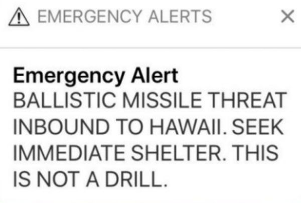 Everybody Was Looking At Porn After Hawaii's False Missile Alert Was Lifted