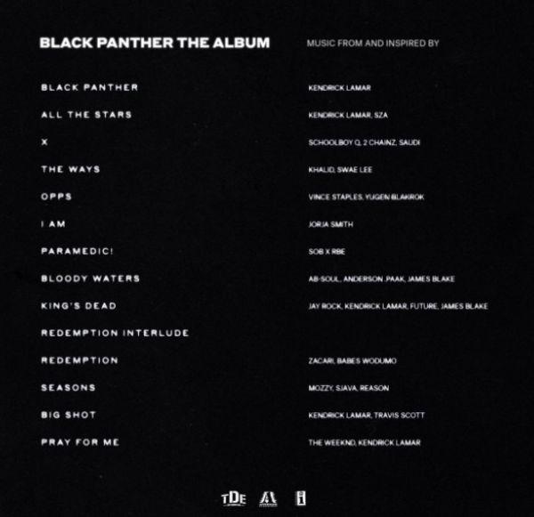 """Kendrick Lamar Leaks """"Black Panther"""" Soundtrack Tracklist"""