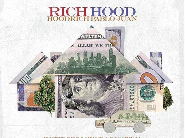 "Hoodrich Pablo Juan Takes Us On A Trip Through His ""Rich Hood"" On New Mixtape"