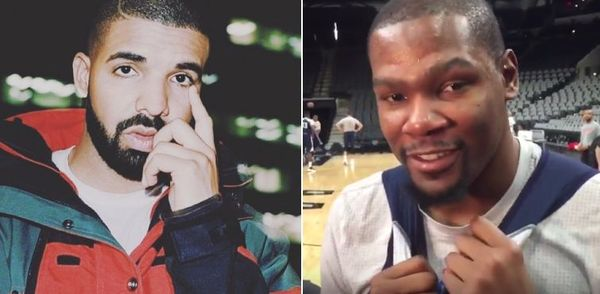 Kevin Durant Responds To Drake Clowning Him From Sidelines During Game