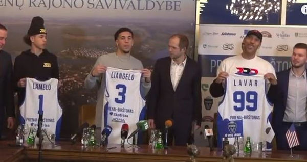 LaMelo Ball's Lithuanian Coach Likens Him To A Rodent