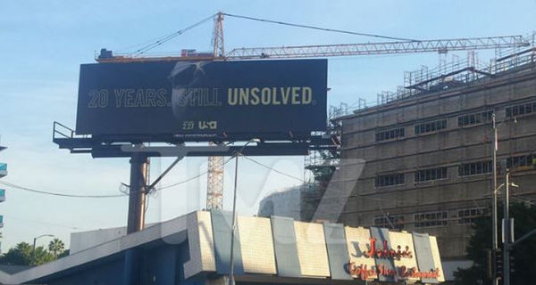 There's a Billboard About Biggie's Unsolved Murder Over His Murder Site