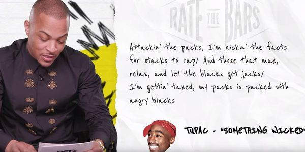 T.I. Gives 2Pac Bars Lowest Score On Rate The Bars