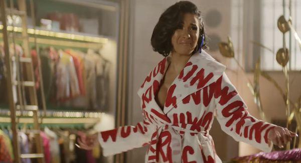 Cardi B Featured in Amazon Alexa Superbowl Ad