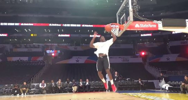 Check The Unseen Dunk Victor Oladipo Had Ready For The Slam Dunk Final