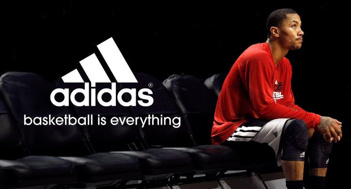 derrick rose adidas contract