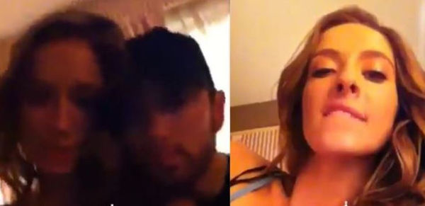 Eminem Caught In Hotel Room With Mystery Girl [VIDEO]
