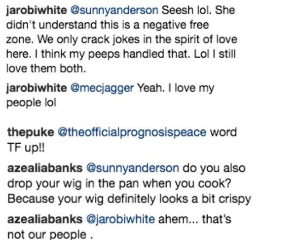 Azealia Banks Rips A Tribe Called Quest's Jarobi In Harsh Cardi B Diss