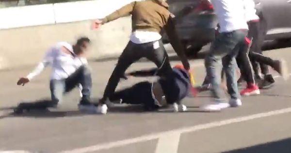 Watch Teka$hi 69 Get Knocked Down In Big Brawl At LAX Airport
