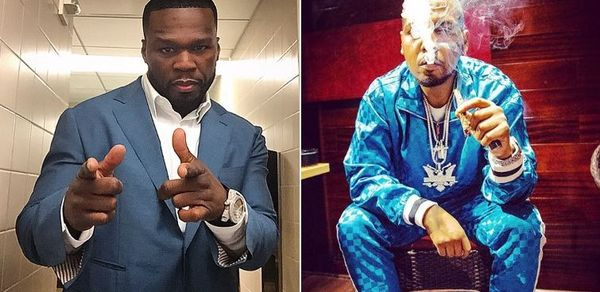 50 Cent Mocks Juelz Santana For Running From TSA After Being Caught With Gun