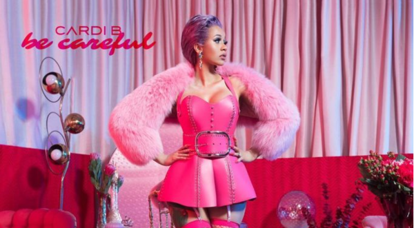 "Cardi B Tells Us ""Be Careful"" On Newest ""Invasion Of Privacy"" Album Single"
