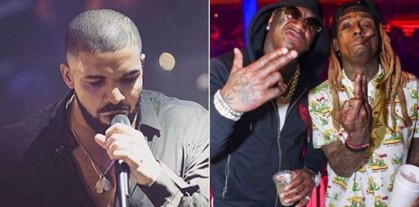 Drake Reacts To Birdman & Lil Wayne Reuniting