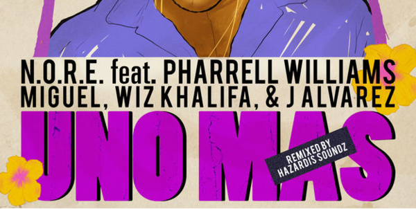 N.O.R.E. Adds Miguel, Wiz Khalifa & J Alvarez For Pharell Assisted Single