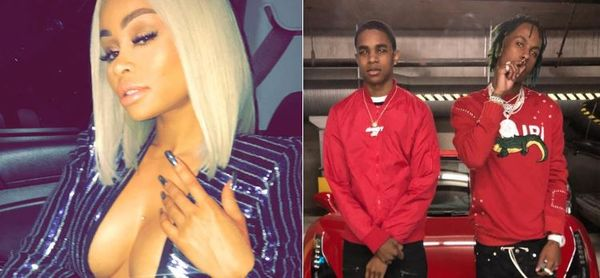 Rich The Kid Mocks Blac Chyna's Head Game as Her Boyfriend Almighty Jay Laughs