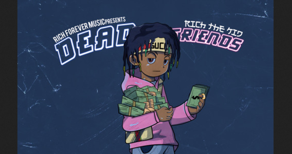 "Rich The Kid Comes For Lil Uzi Vert On ""Dead Friends"" Diss"