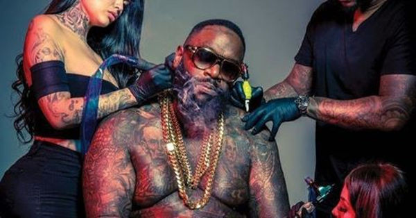Rick Ross Flexes Amid Worries About His Health