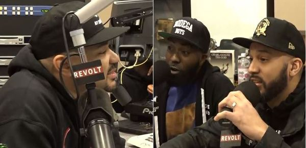 Watch DJ Envy Attack Desus & Mero Over Comments About His Wife