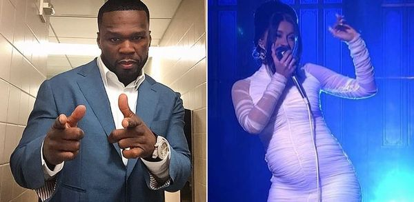 50 Cent Reacts To Cardi B Being Pregnant