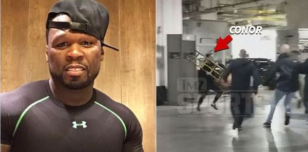 50 Cent Trolls Conor McGregor After He Goes Ham On Bus Full Of UFC Fighters