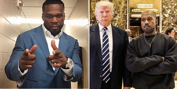 50 Cent Weighs In On Kanye's Donald Trump Love