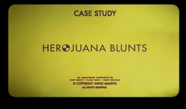 "A$AP Rocky Returns With A Case Study; Here's ""Herojuana Blunts"""