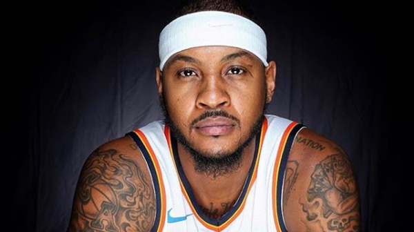 Carmelo Anthony Isn't Ruling Out a Return to The New York Knicks